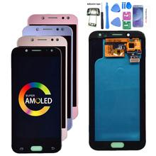 Super AMOLED LCD do Samsung Galaxy J5 2017 J530 J530F wyświetlacz LCD ekran dotykowy Digitizer zgromadzenie lcd dla J5 Pro 2017 J5 Duos tanie tanio Pojemnościowy ekran 1280x720 3 For Samsung Galaxy j5 2017 J530 LCD i ekran dotykowy Digitizer Test One By One 5 0 inch