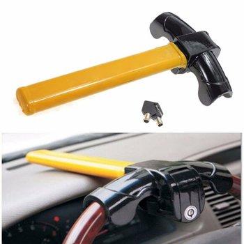 Universal Heavy Duty Anti-theft Steering Wheel Lock Car/Van Security Rotary Steering Wheel Lock Enhance Car Security
