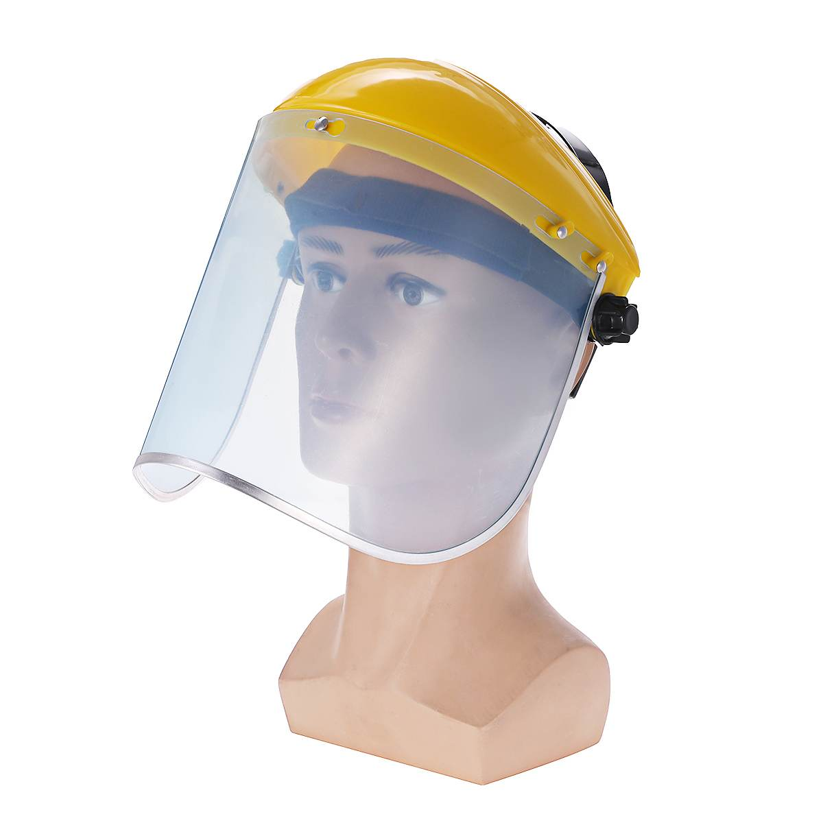 Protective Full Face Mask Welding Helmet Anti-UV Clear Safety Anti Splash Shield Visor Workplace Protection Supplies Anti-Shock