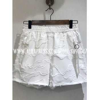 2020 New Summer Casual Shorts Elastic Waist Shorts Fashion Shorts Streetwear Women's New Shorts High Quality Embroidered Pants