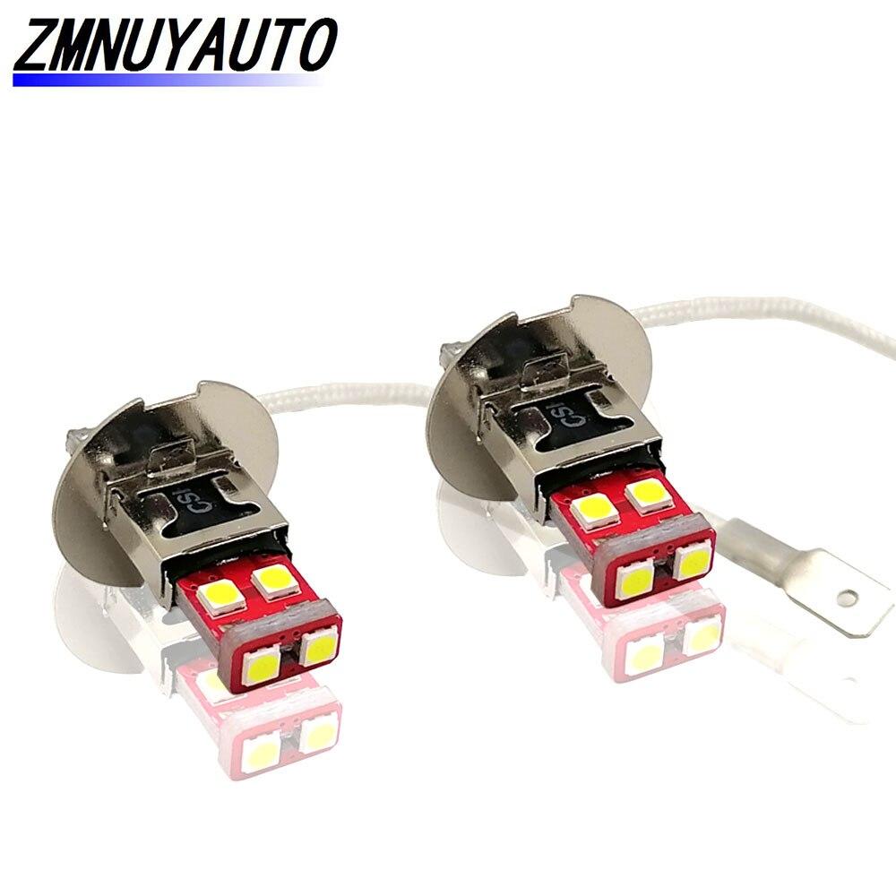 2 шт., передние противотуманные светильник для Автомобиля H3 6SMD 3030