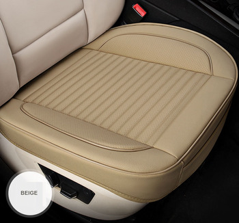 universal car seat cover leather for Peugeot 107 206 206CC 207 301 307 307CC 308 408 508 3008 Auto Interior accessories cover image