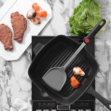 Кухонная перемешивание лопатка для жарки Тернер ложка-кисточка термостойкая антипригарная силиконовая лопаточка Совок щетка кухонный инструмент