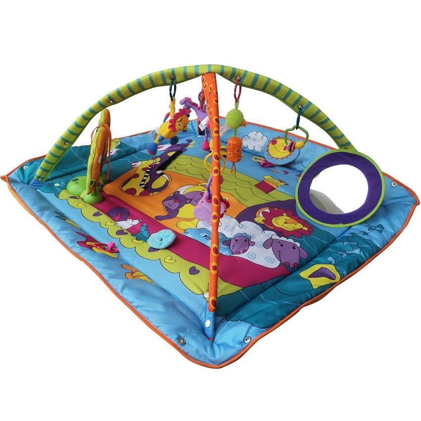 Transfrontalier pour multi-fonctionnel bébé tapis de jeu escalade Pad ferme jeu couverture Fitness Rack jouet éducatif