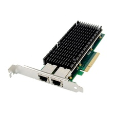 Network-Card 10000M PCIE Gigabit Pci-Express Dual-Port 10G X8 RJ45 To 10gbe X540 NIC