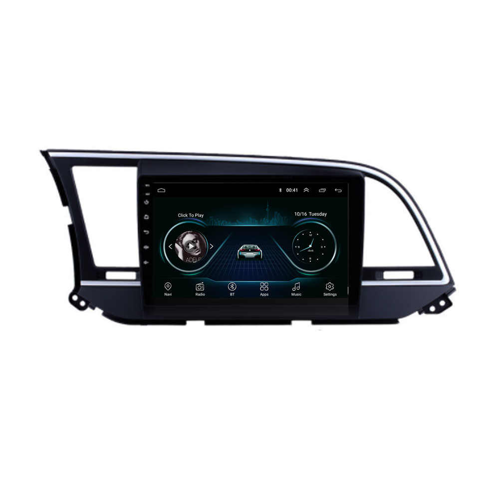 4G LTE Android 8.1 For HYUNDAI ELANTRA 2016 2017 2018 2019 2020  Multimedia Stereo Car DVD Player Navigation GPS Radio