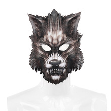 Best Selling Halloween Carnival Party Cosplay Props Masquerade EVA Half Face Animal Wolf Mask Boy Gift 1pc 3d mask halloween carnival party props full face masks masquerade cosplay props diy horror funny latex mask new 2018