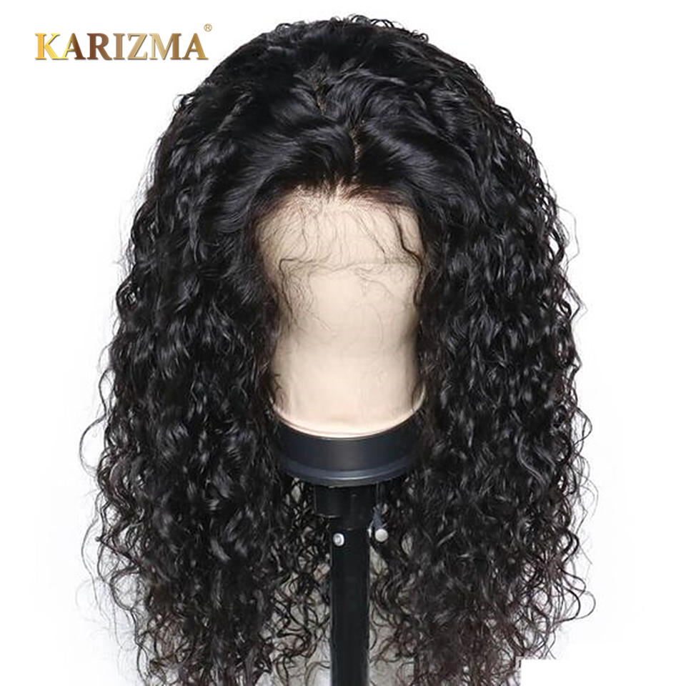 Water Wave Lace Front Human Hair Wigs For Black Women 13X4 Pre Plucked With Lace Front Baby Hair Brazilian Hair Short Bob Wig