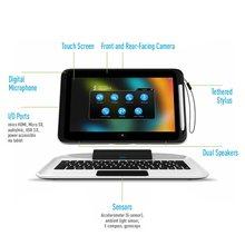 10,1 zoll 3E Windows 10 Tablet PC Tastatur docking mit batterie Quad Core 2GB RAM 64GB ROM 1366*768 IPS Kapazitive stylus