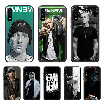 Eminem 8 Mile Rap God Phone Case hull For huawei honor play 6 7 8 9 10 view 20 A X i pro lite black cover fashion Etui silicone image
