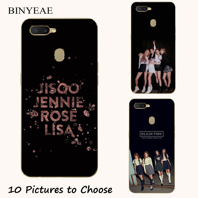BLACKPINK k-pop collage soft silicone Painting Case For Oppo Realme C1 C2 U1 1 2 3 Pro X Lite Mobile Phone Printed Cover