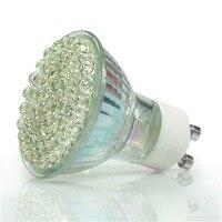 10 x 3.6W/ 60 GU10 LED SMD Light Bulbs Day/Warm White High Power