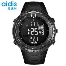цена на addies New Fashion Men Sports Watches LED Digital Clock Man Military Waterproof Watch Relogio Masculino
