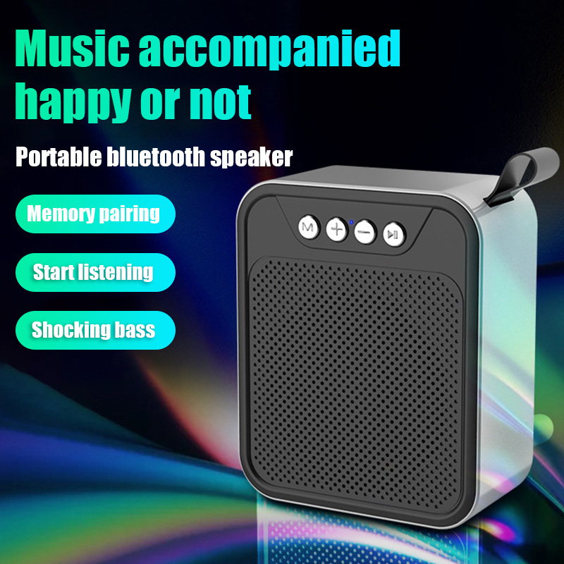 Bluetooth Speaker <font><b>DSP</b></font> HD Noise Reduction Technology Outdoor Portable <font><b>Mini</b></font> Subwoofer Supports Handsfree Call GDeals image