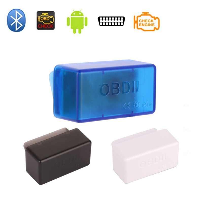 ミニ Elm327 Bluetooth OBD2 V1.5 elm 327 V 1.5 OBD 2 車診断ツールスキャナー Elm-327 OBDII アダプタ自動診断ツール