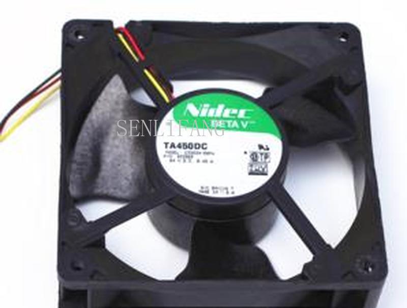 For TA450DC 12038 C33534-58PW P/N 933565 24V 0.45A 3 Wires 12cm Server Case Fan