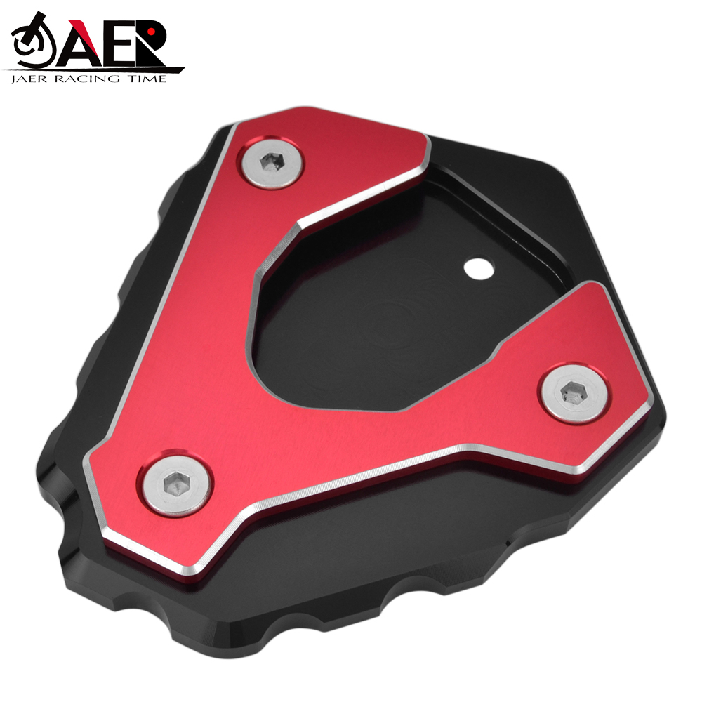 JAER Motorcycle Kickstand Side Stand Enlarger Extension Plate Pad For BMW G310R <font><b>G</b></font> <font><b>310</b></font> <font><b>R</b></font> <font><b>G</b></font> 310R G310 <font><b>R</b></font> 2016 2017 2018 image
