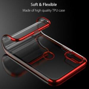 Image 5 - Chapeamento de silicone caso do telefone para redmi note 5 5a 6 pro plus prime y1 y2 s2 6pro 5plus macio claro ultrafino proteger gel volta capa