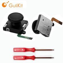 Gulikit 2 pièces elfes Joystick remplacement réparation Kiet Joy Stick pour Gulikit elfes contrôleur NS Switch Gamepad Joycon jeu Pad