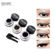 IMAGIC Eyeliner Waterproof Long-lasting Eyeliner Gel Makeup Cosmetic Gel Eye Liner With Brush 24 Hours Eye Liner Kit Fast Dry