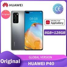 Huawei P40 Smartphone Supercharge Nfc 8Gb 128Gb Kirin 990 Bluetooth 5.1 50MP Ultra Versie Camera Смартфоны Телефон Смартфон