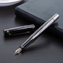 Ручка перьевая Посеребренная 05 мм в деловом стиле