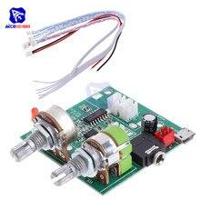 Diymore 5 v 20 w 2.1 canais 3d surround módulo de placa amplificador amplificador estéreo digital classe d para arduino com fios