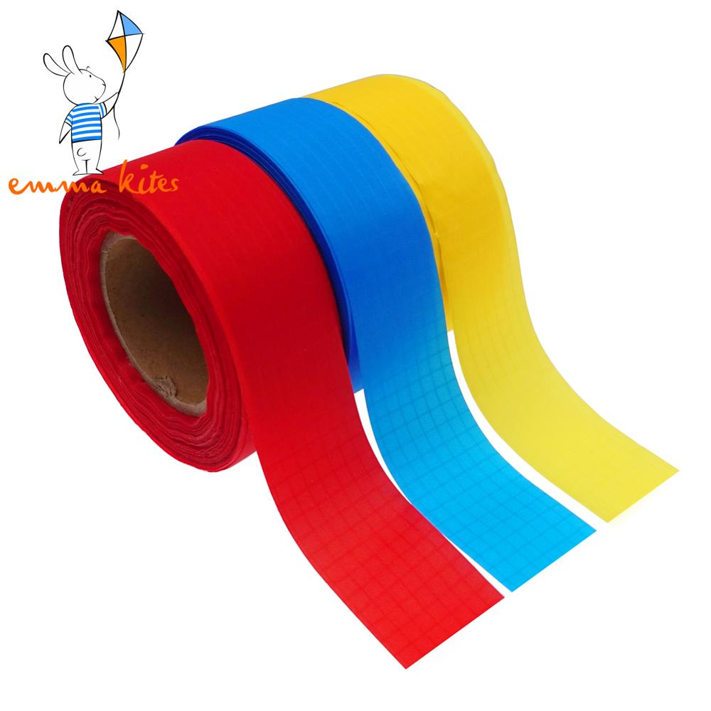 1in X 30 Yards Ripstop Nylon Ribbon Non Adhesive Tape 40D Great Material For Kite Tails Making Edge Binding DIY Cloth Projects