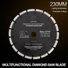 230 мм разделенный зуб Сегментированная форма алмазная пила