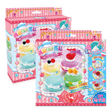 EAKI Simulation Cream Cake DIY Hand Made Cake Toys Children's Educational Toys for Girls Arts and Crafts for Kids Gifts