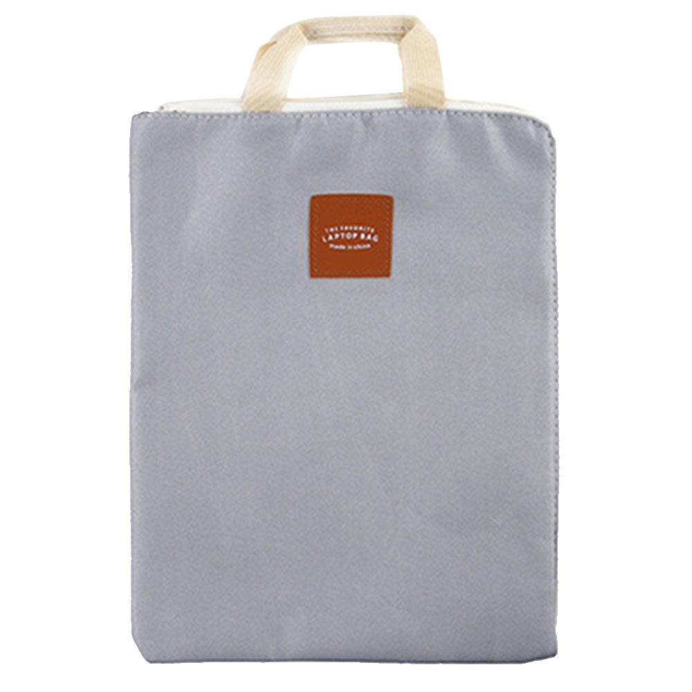 Bags Bag Muiti-Function Canvas Protector Briefcase Handheld Document Bag Zipper Holder Container Case Business