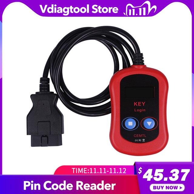 2020 עבור Vag Pin קוד קורא אוטומטי מפתח מתכנת OBD2 Vag מפתח כניסה רכב אבחון כלי קוד קורא משלוח חינם