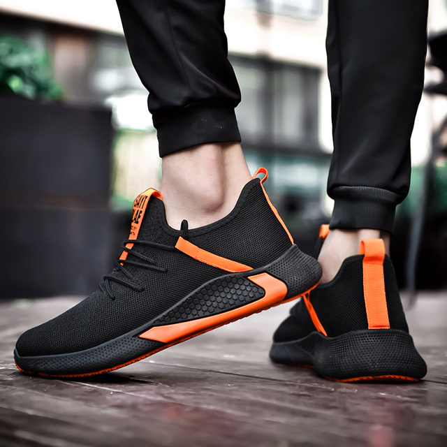 Zapatillas de estilo harajuku para hombre, zapatos baratos masculinos, informales, transpirables, con cordón, de buena calidad, marca de lujo, novedad de 2020 5