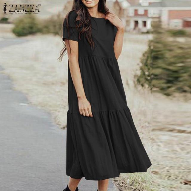 boho casual dress, loose and comfortable 3