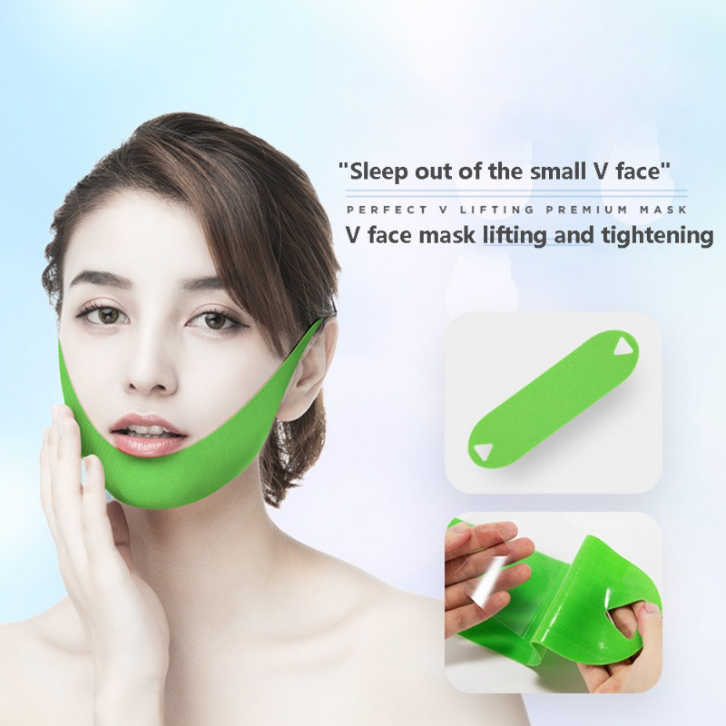 Chin Mask Lasting Moisturizing Skin Firming Lifting Slimming Face Mask V-shape Face Mask