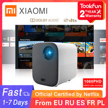 Globale Version Xiaomi Jugend Edition Projektor 1080P HDR10 Android TV 9,0 Auto-Fokussierung Dolby Audio Google Assistent Hause theater