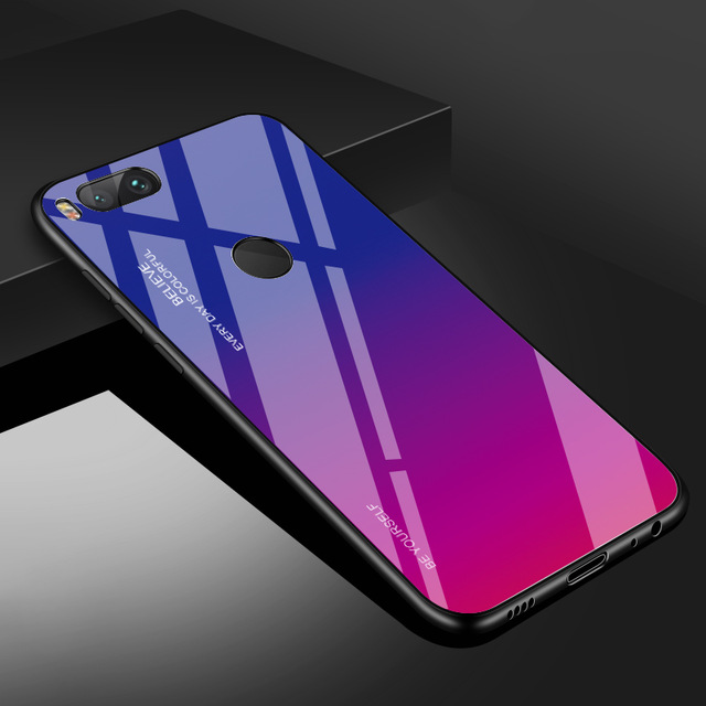 Чехол из закаленного стекла INIU для Xiaomi mi 9 SE 8 Pro A2 A1 Lite, Роскошный чехол для телефона mi x 3 2S Max 2 Note 3 Pocophone F1 - Цвет: 3