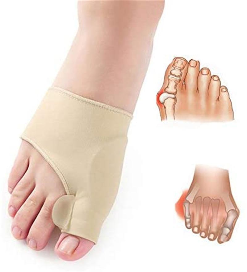 3 Pair Toe Separator Hallux Valgus Bunion Corrector Toe Correction Orthotics Feet Bone Thumb Adjuste Pedicure Sock Straightener