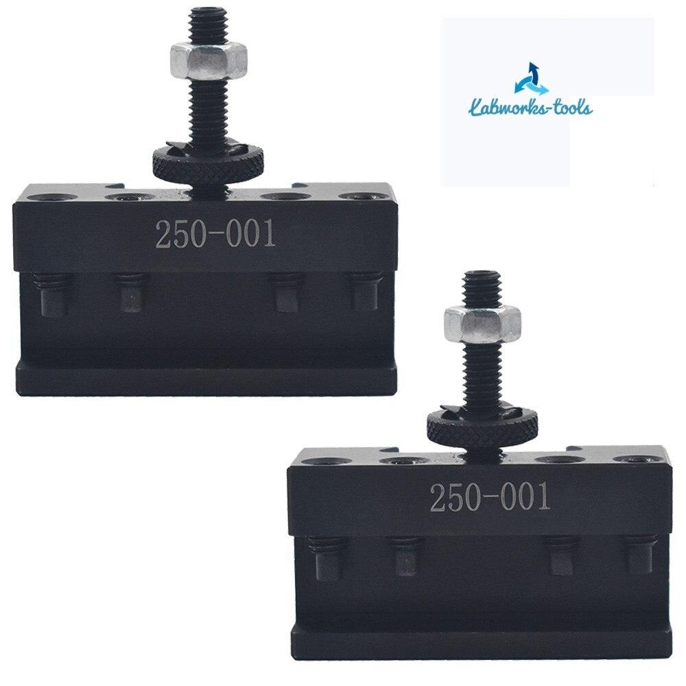 2pcs OXA #1 Quick Change Turning & Facing Lathe Tool Post Holder OXA 250-001