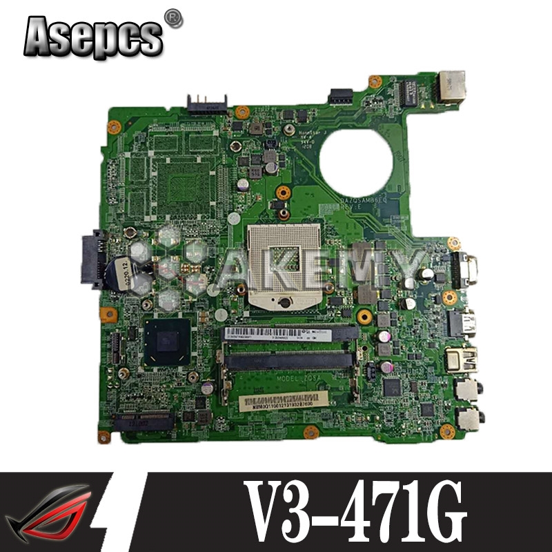 For Acer E1-431 laptop motherboard DAZQSAMB6E1 Intel CPU 100/% tested