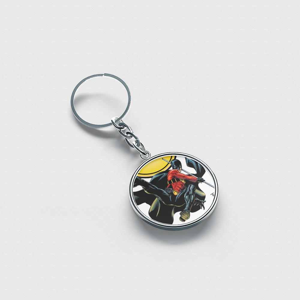 Tim Drake Photo Keychain Personalized Keychain Custom Picture Keychain Gift For Best Friend Gift For Mom Gift Idea image