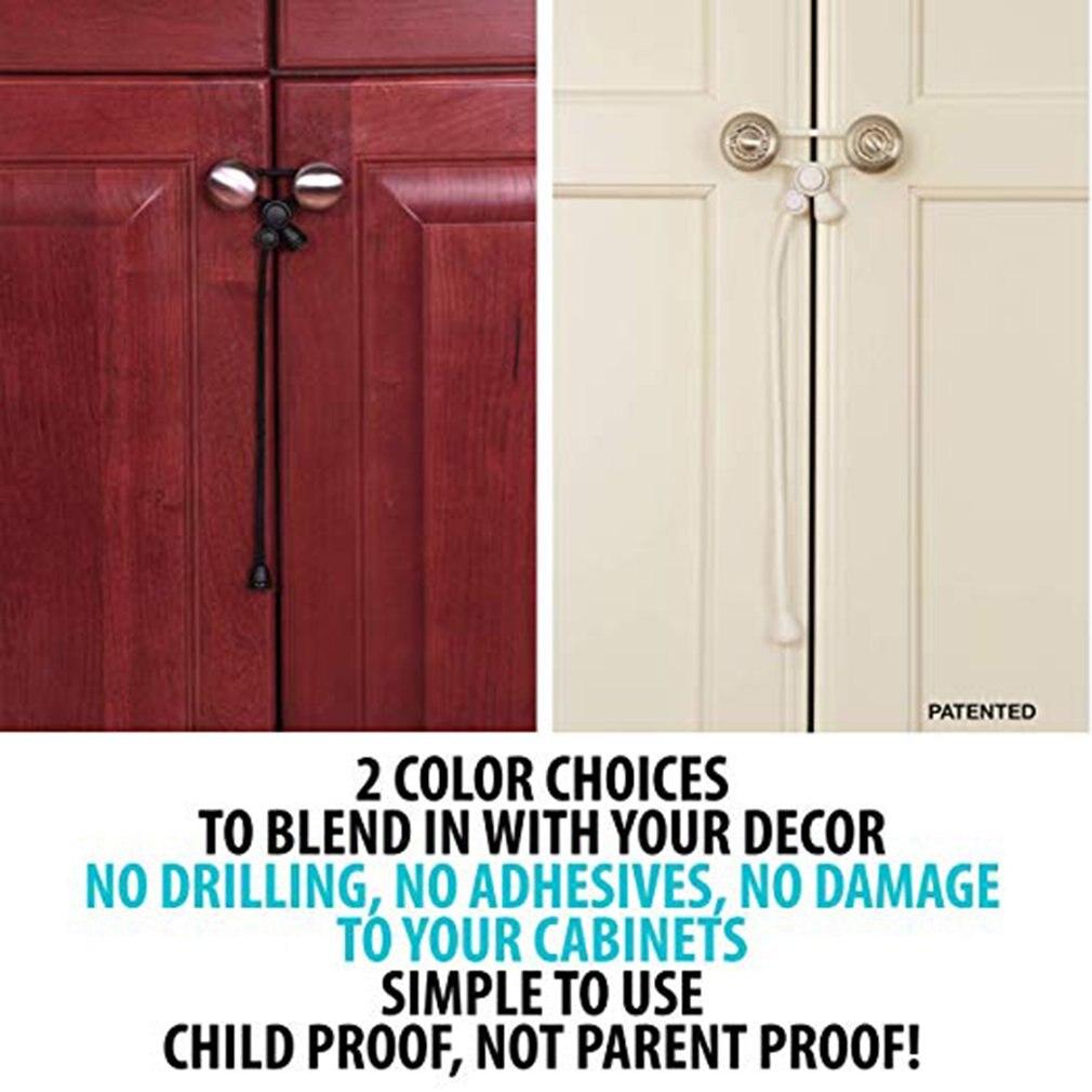 1pcs Baby Safety Cabinet Lock Child Safety Cabinet...