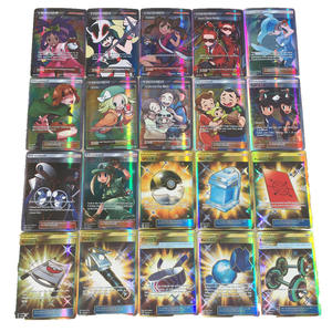 Toy Card-Game Trading-Cards Battle Children 100pcs for 92trainerx8sprops Letters