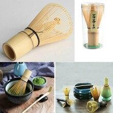 1 шт Матча зеленый чай венчик для пудры матча бамбуковый венчик бамбуковый Chasen Полезная щетка инструменты кухонные принадлежности веничек для чая «маття»