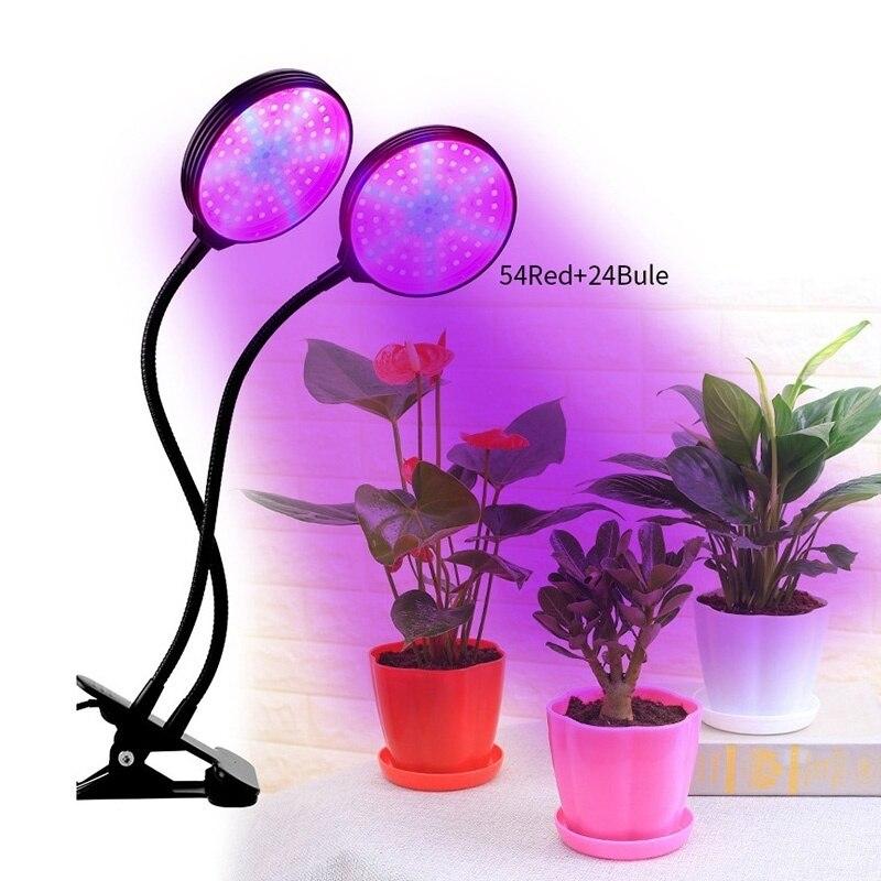 Smart Garden Kit LED Grow Light Hydroponic Growing Multifunction Desk Lamp Garden Plants Flower Hydroponics Tent Box 15/30W/45W
