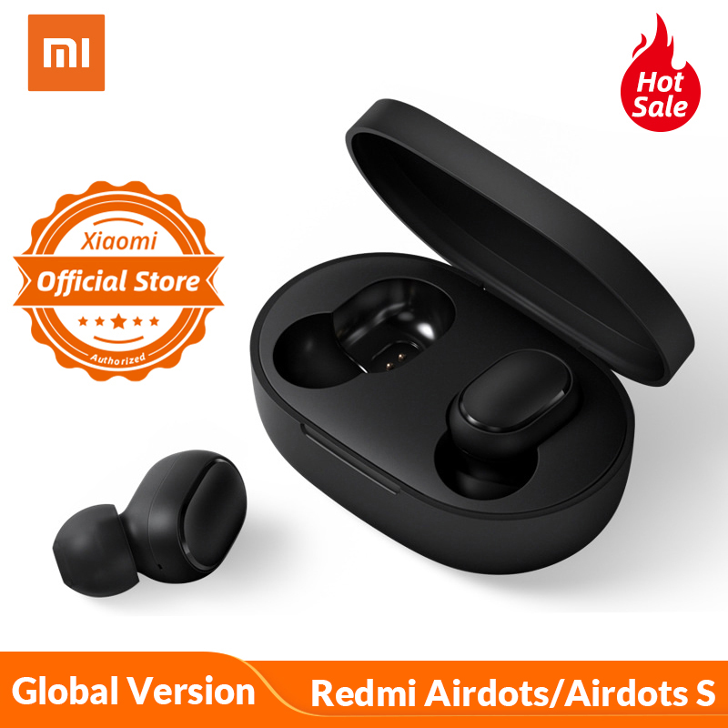 Xiaomi Redmi AirDots/AirDots S Global Version In Ear Bluetooth 5.0 Wireless Bass Stereo Earphones With Mic Handsfree Earbuds(China)
