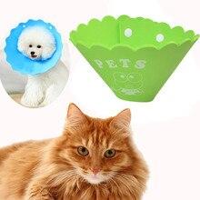 Ошейник для собак с защитой от укусов, мульти размер, для питомцев, собак, кошек, елизант, защитное кольцо на шею, защита от укусов, ошейник, Cachorro, товары для домашних животных