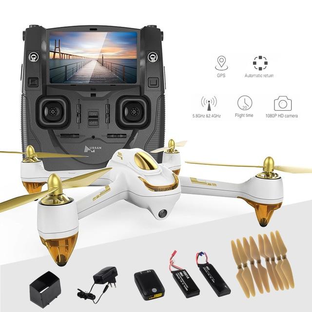 Hubsan H501S X4 Pro 5.8G FPV kamera geliyor standart dört eksenli konumlandırma GPS hava modu Quadcopter helikopter RC Drone