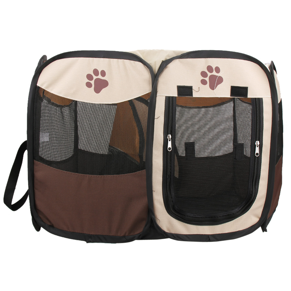 <font><b>Dog</b></font> Crate Large <font><b>Portable</b></font> Outdoor <font><b>Kennels</b></font> Fences Pet Tent Houses For Large <font><b>Dogs</b></font> Foldable Playpen Indoor Puppy Cage Delivery Room image