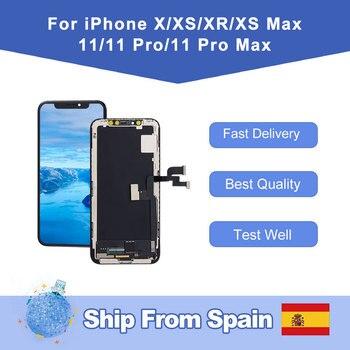 Elekworld+pour+iphone+X+XR+XS+XS+MAX+OLED+%C3%A9cran+LCD+affichage+de+remplacement+avec+3D+tactile+num%C3%A9riseur+assembl%C3%A9e+11+Pro+Max+Incell